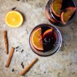 mulled wine with mulling spices